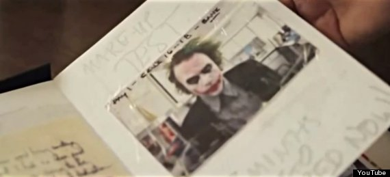 heath ledger joker diary