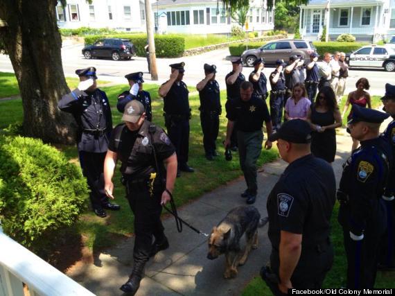 kaiser police dog