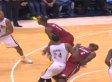 LeBron Flops Defending Paul George In Game 6 Against Pacers (VIDEO)