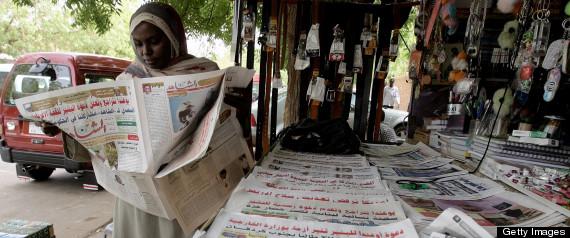 SUDAN NEWSPAPER