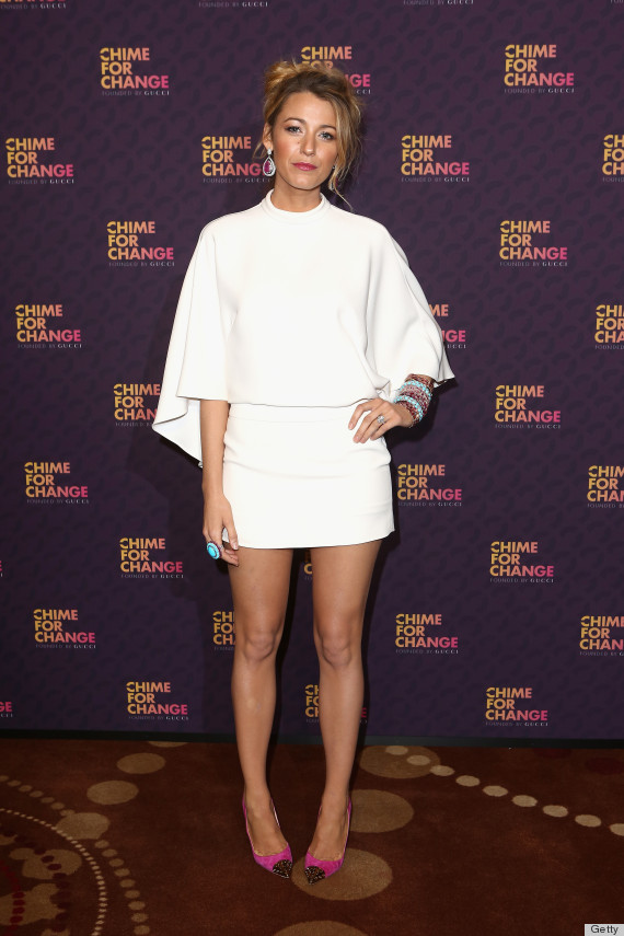 Blake Livelys Gucci Dress The Right Way To Wear White Photos