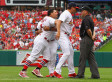 Yadier Molina Ejected After Throwing Helmet, Flips Out At Umpire Clint Fagan (GIF)