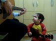 Diogo Mello, Toddler, Sings The Beatles' 'Don't Let Me Down' With His Dad (VIDEO)