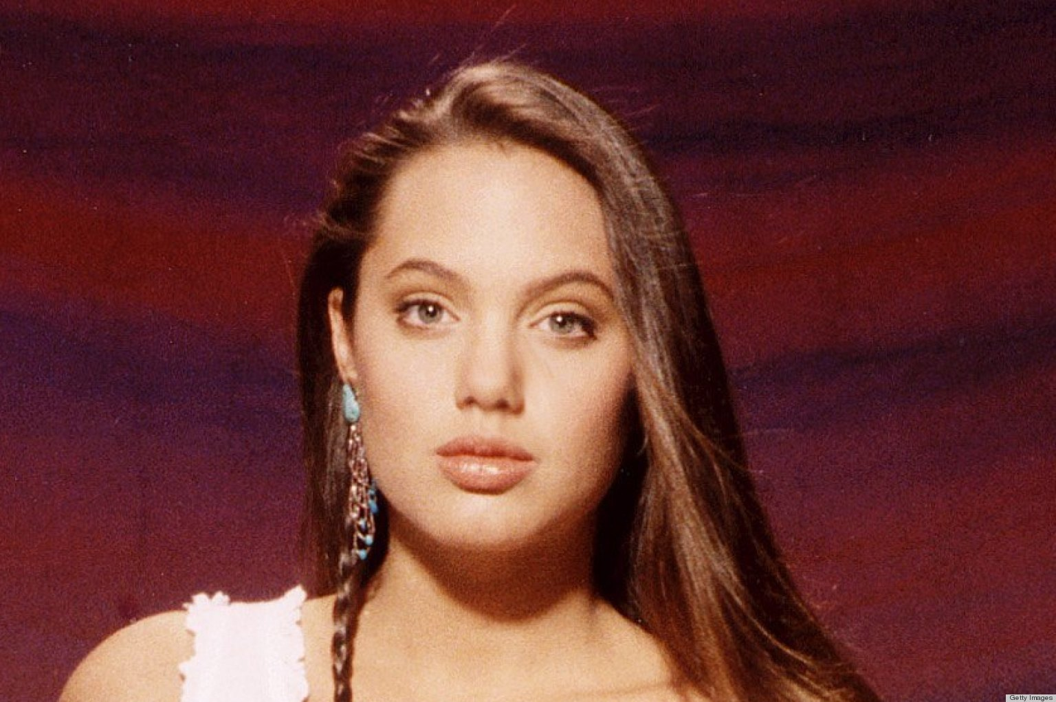 Young Angelina Jolie Was So On-Trend In A Crop Top And