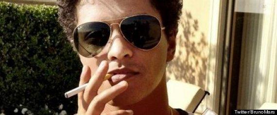 Bruno Mars Electronic Cigarette