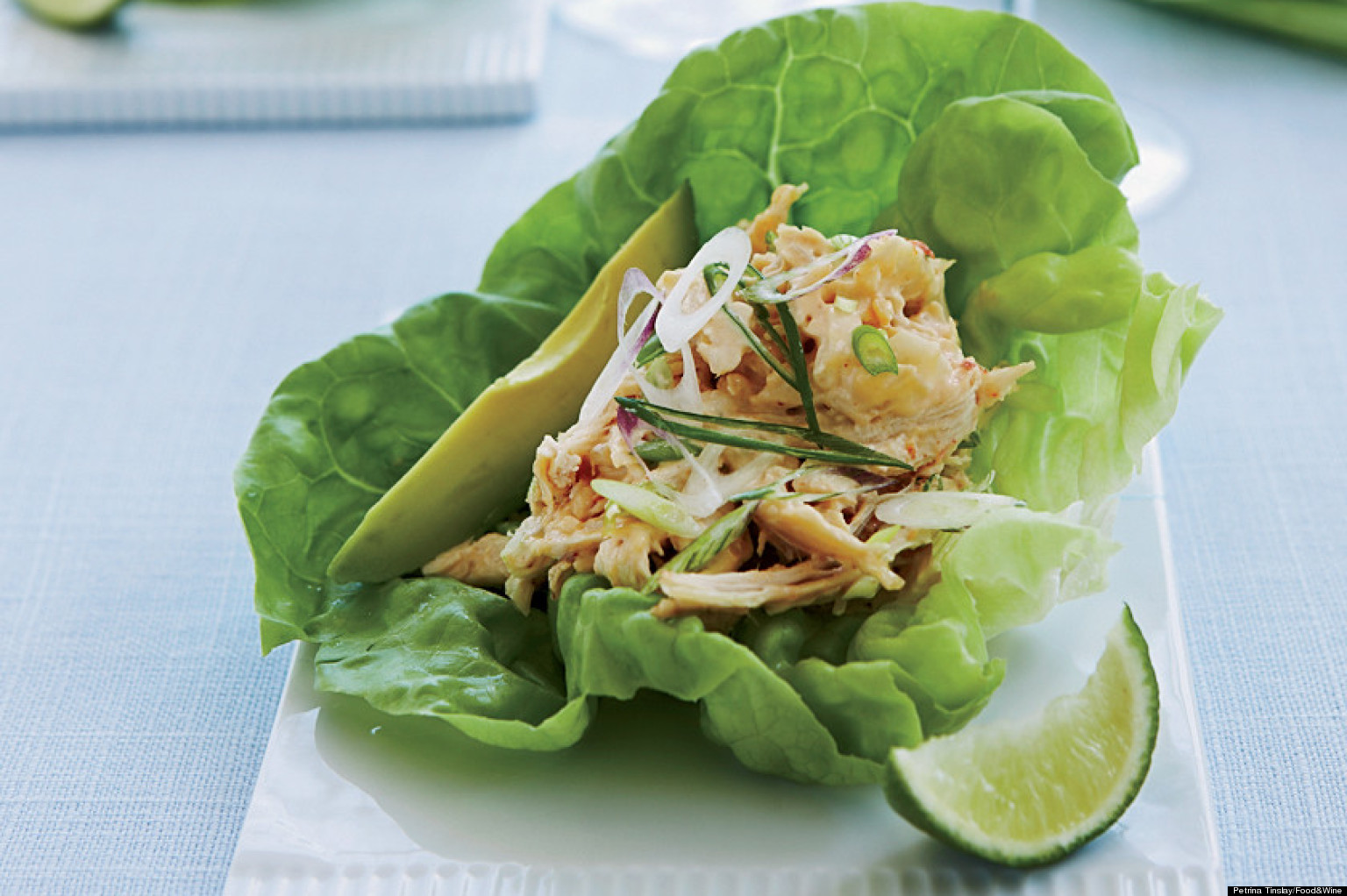 Recipe Of The Day: Lettuce Wraps | The Huffington Post