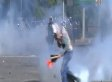 Turkey Tear Gas Incident: Riot Police Appears To Fire Canister At Protester (VIDEO)