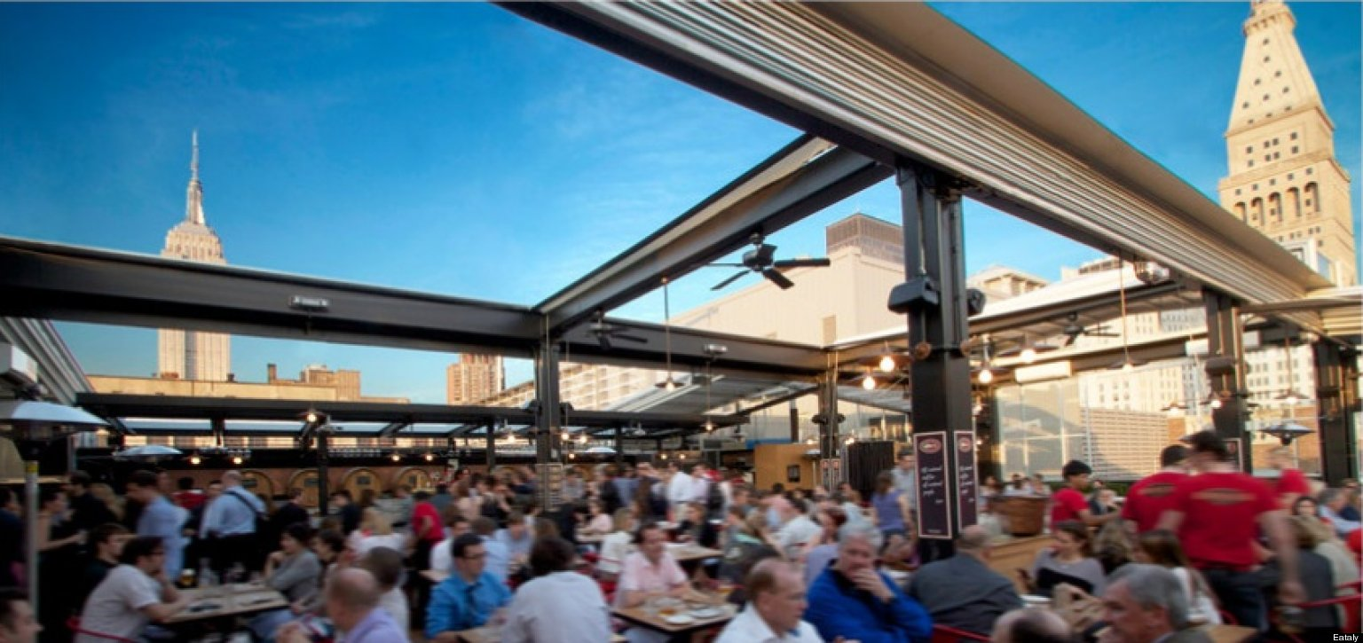 The Best Outdoor Dining Drinking Places In New York City
