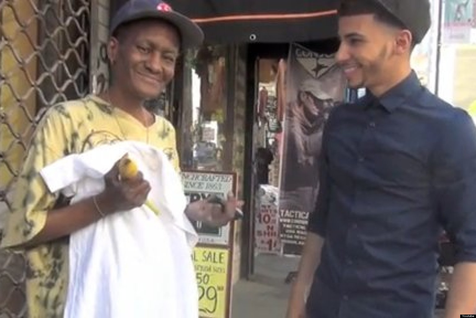 Make The Homeless Smile Pranksters True Story Asa Make Heartwarming Video Giving To Those In