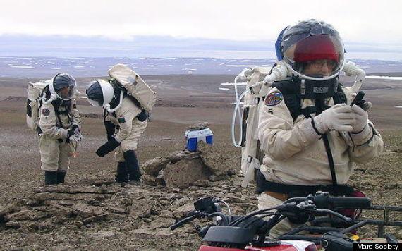 mock mars mission