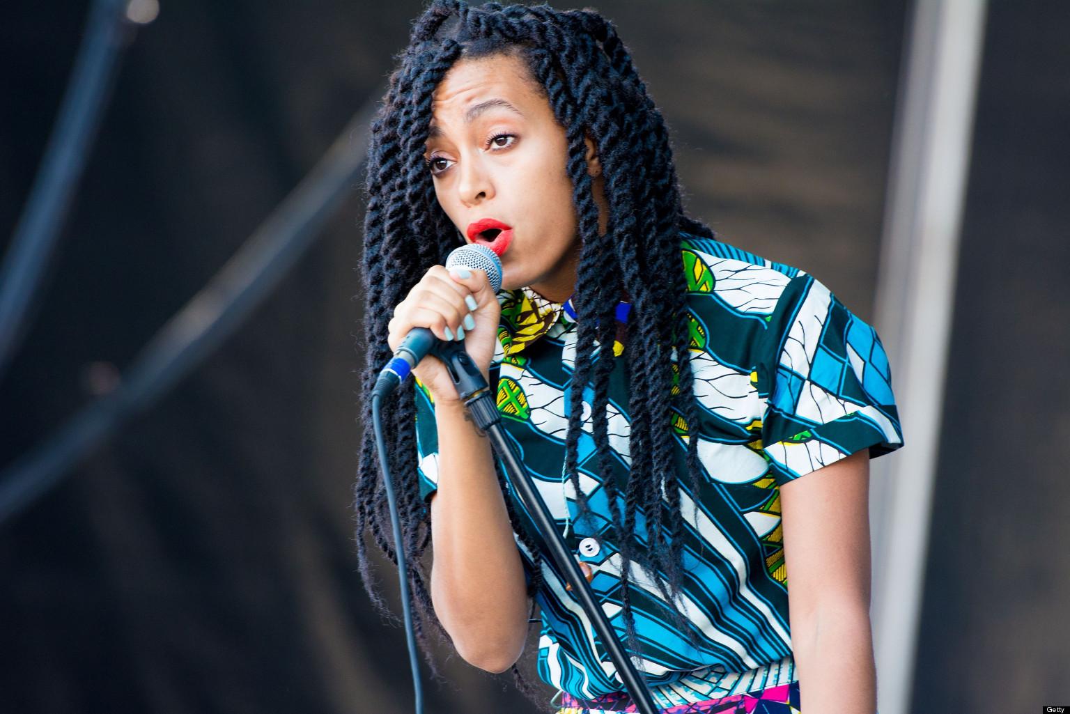 Solange Knowles Marley Twist Braids