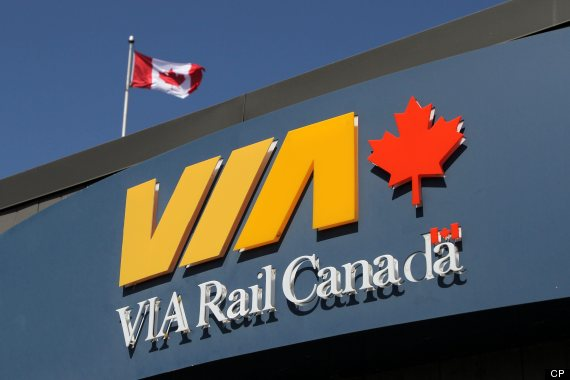 via rail strike 2013