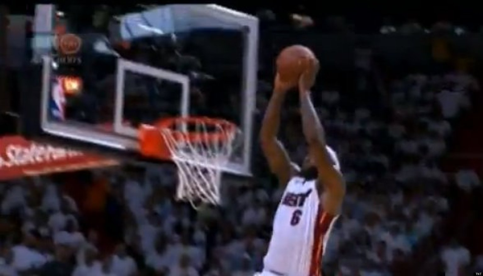 Lebron Dunk On Dwight Howard