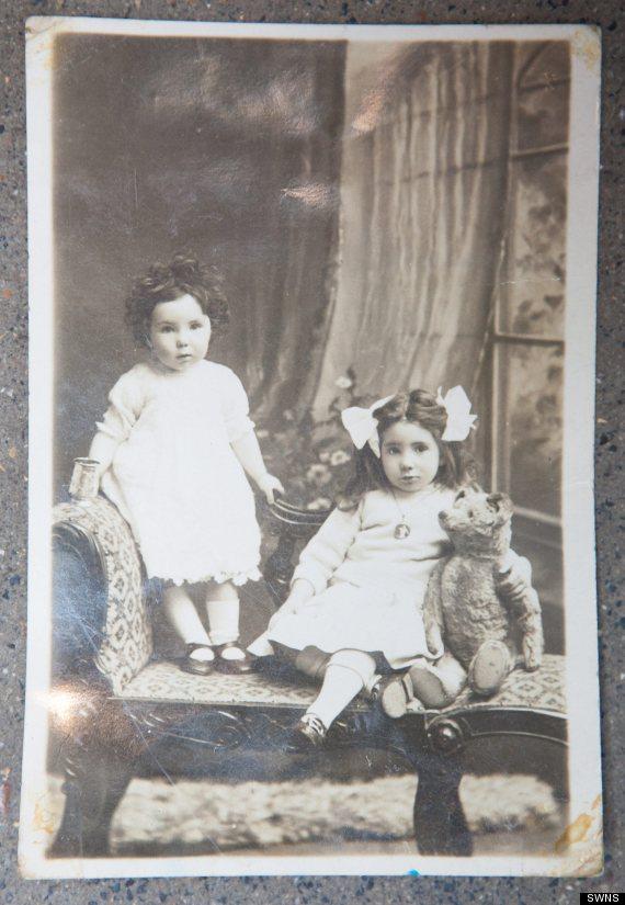 100 yearold teddy