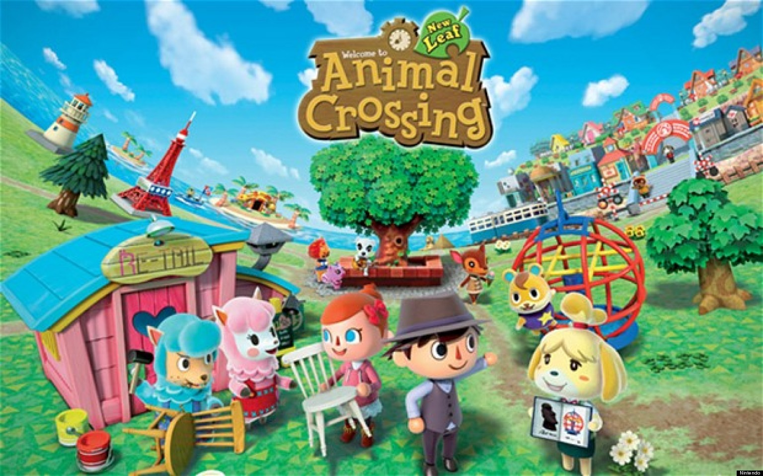 Animal crossing new leaf 3ds review huffpost uk for Animal crossing new leaf arredamento