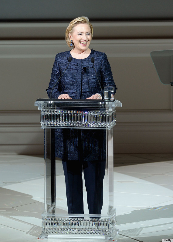 cfda awards hillary clinton