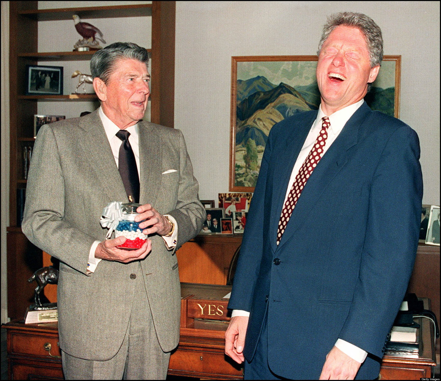 compare and contrasting bill clinton to ronald reagan Comparing obama and reagan's economic records  barack obama or ronald reagan  necessitating the deficit-reduction bills passed by george hw bush and bill clinton obama's major .