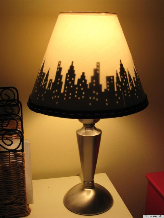 9 DIY Lampshade Ideas That Will Personalize Your Bedside Table (