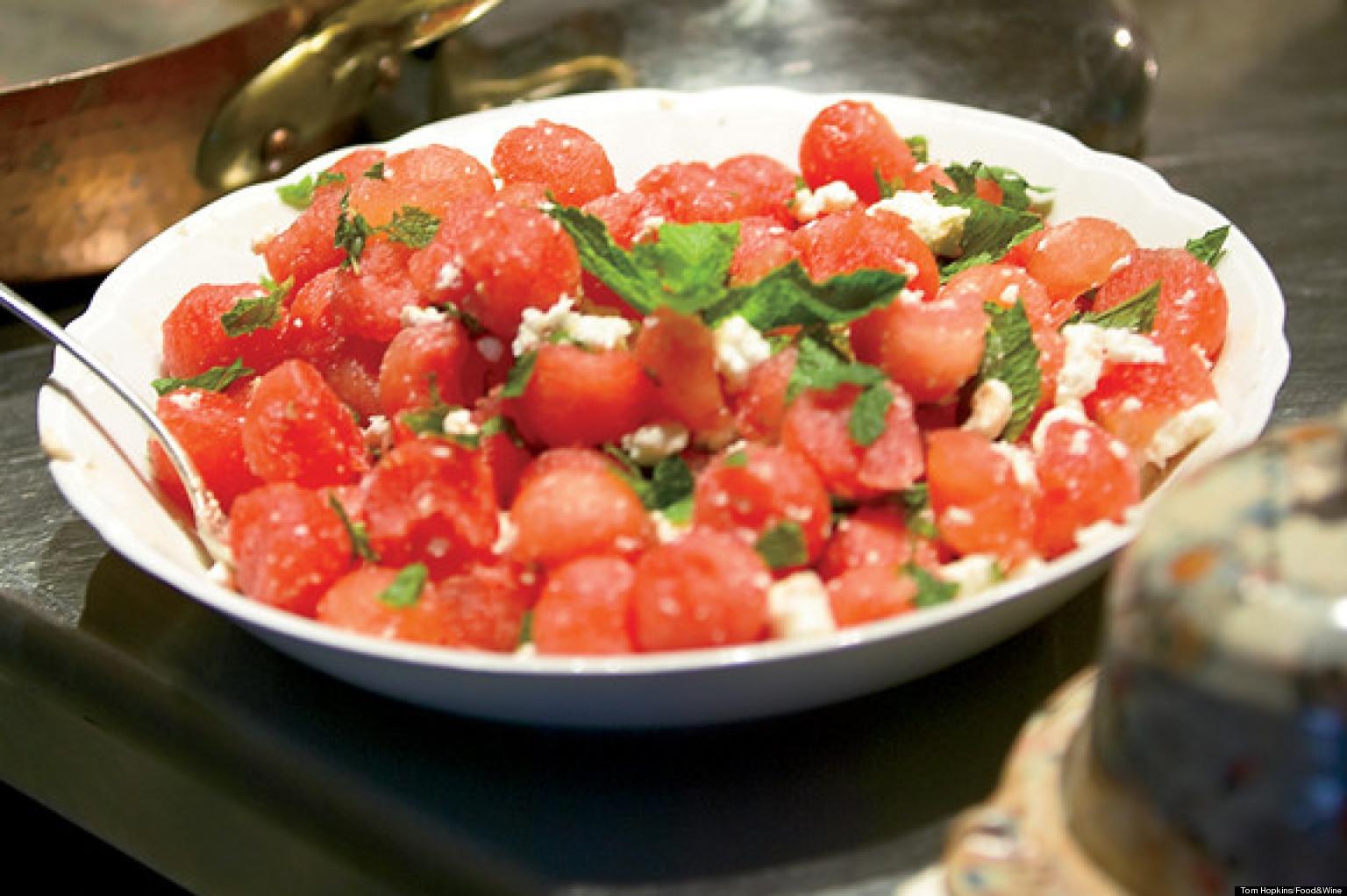 watermelon feta salad recipes
