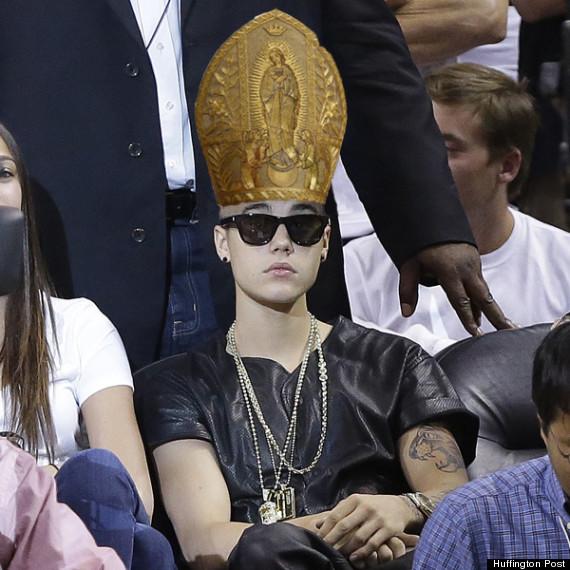 bieber pope hat