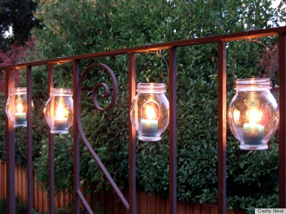 7 DIY Outdoor Lighting Ideas To Illuminate Your Summer Nights PHOTOS Huff