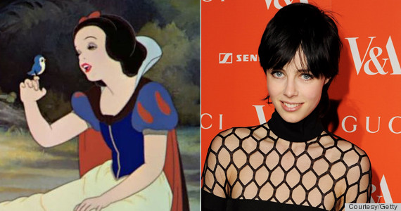 snow white and edie campbell