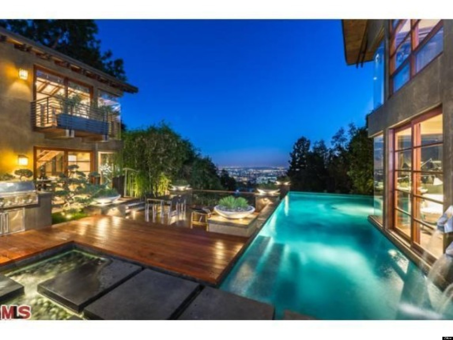 Calvin harris 39 house nestled in the hollywood hills for Calvin house