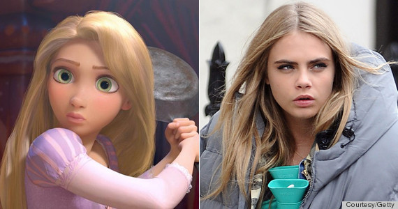 cara and repunzel