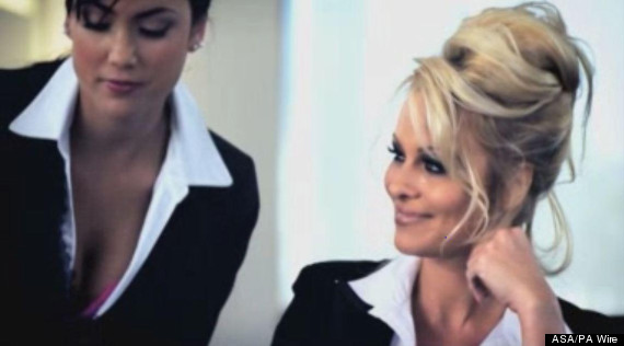sexist ad pamela anderson