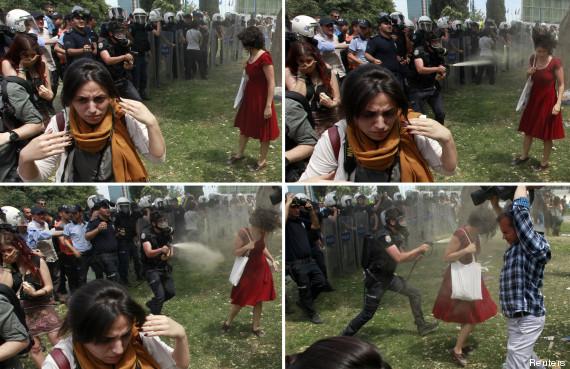 femme rouge turquie 4