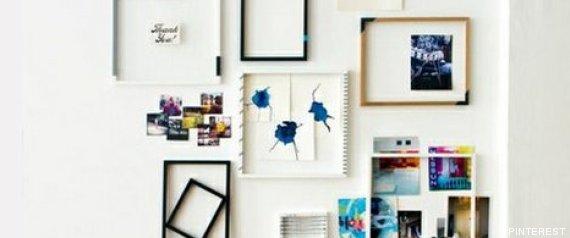 decorar con cuadros 33 ideas para enmarcar fotos