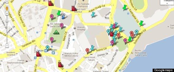 GOOGLE MAPS ISTANBUL