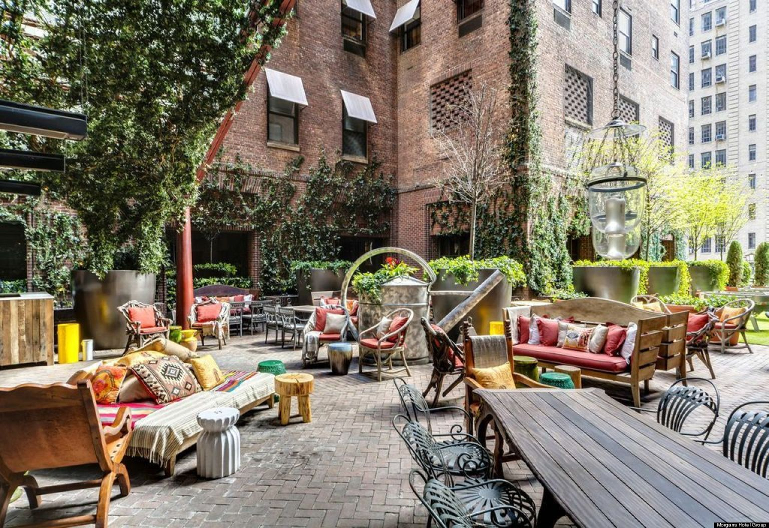 New york city rooftops the trendiest places to drink and for Terrace parent lounge