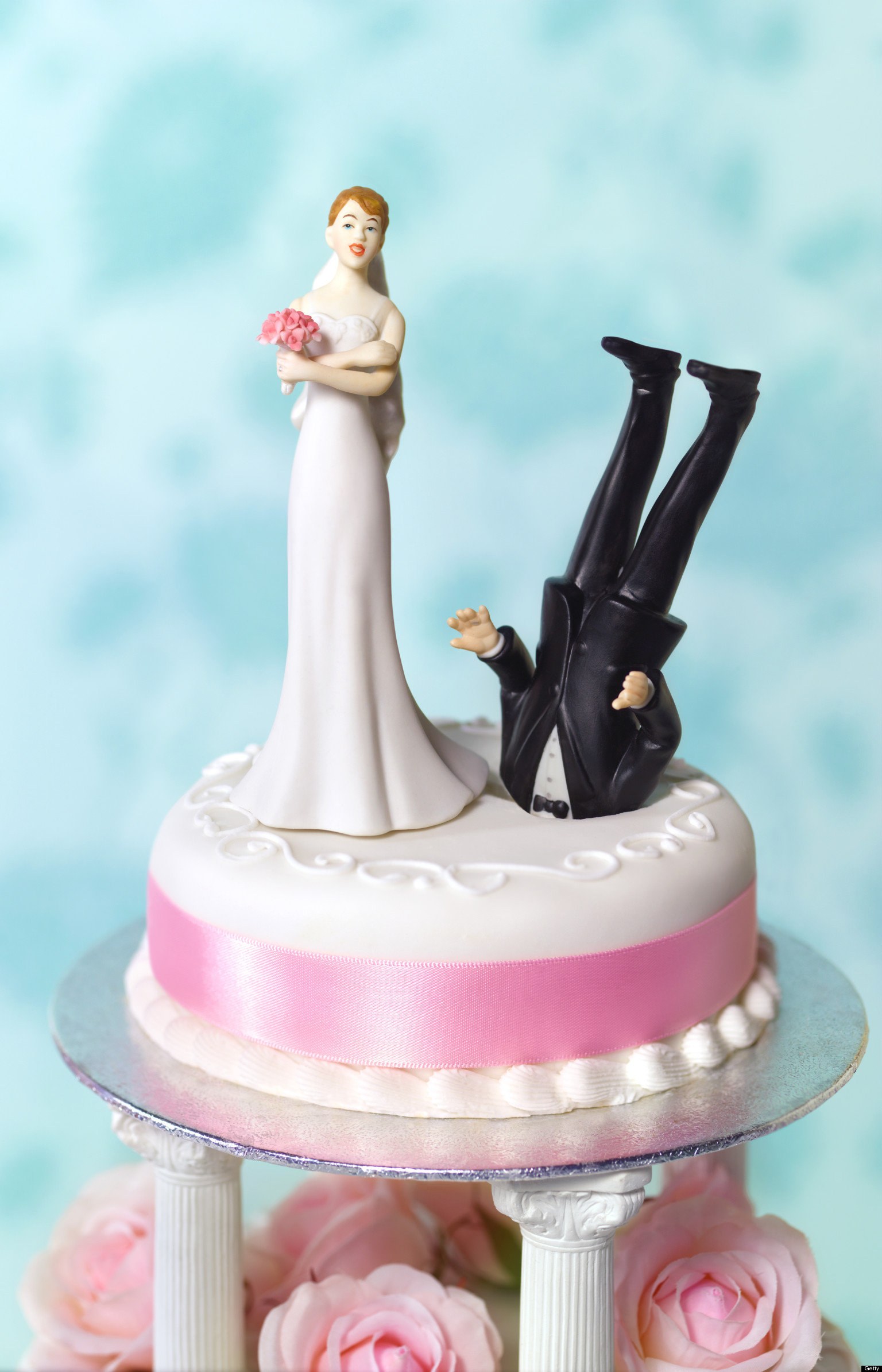 funny cake toppers divorce what huffpost divorce readers wedding cake 4424
