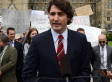 Justin Trudeau's Expenses Announcement Crashed By Tory Protesters