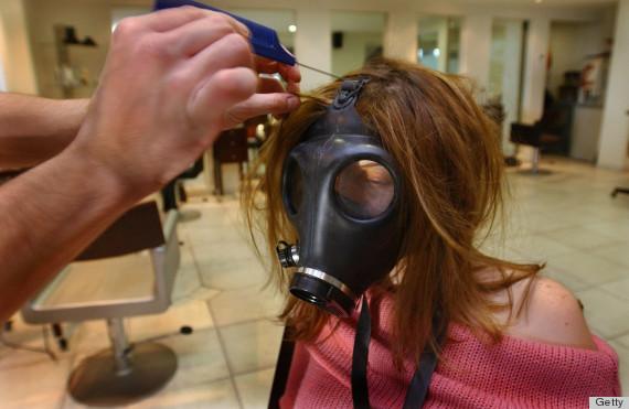 hair salon hazards