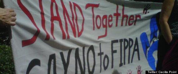 FIPA PROTEST