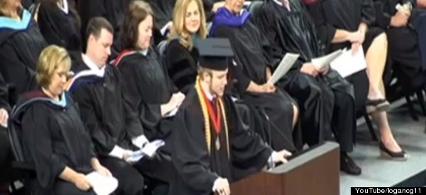WATCH: High School Valedictorian Rips Up Speech, Recites Lord's Prayer Instead