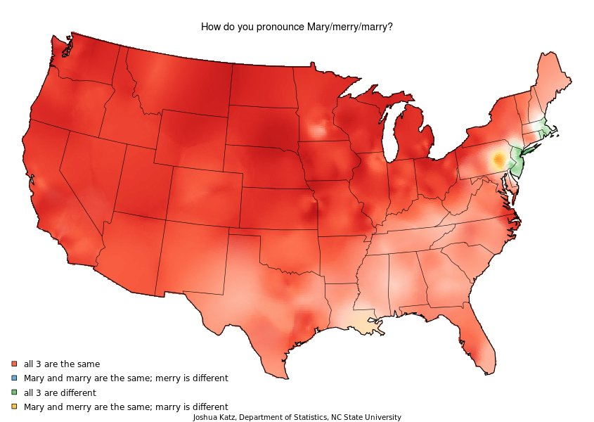 these dialect maps showing the variety of american english have