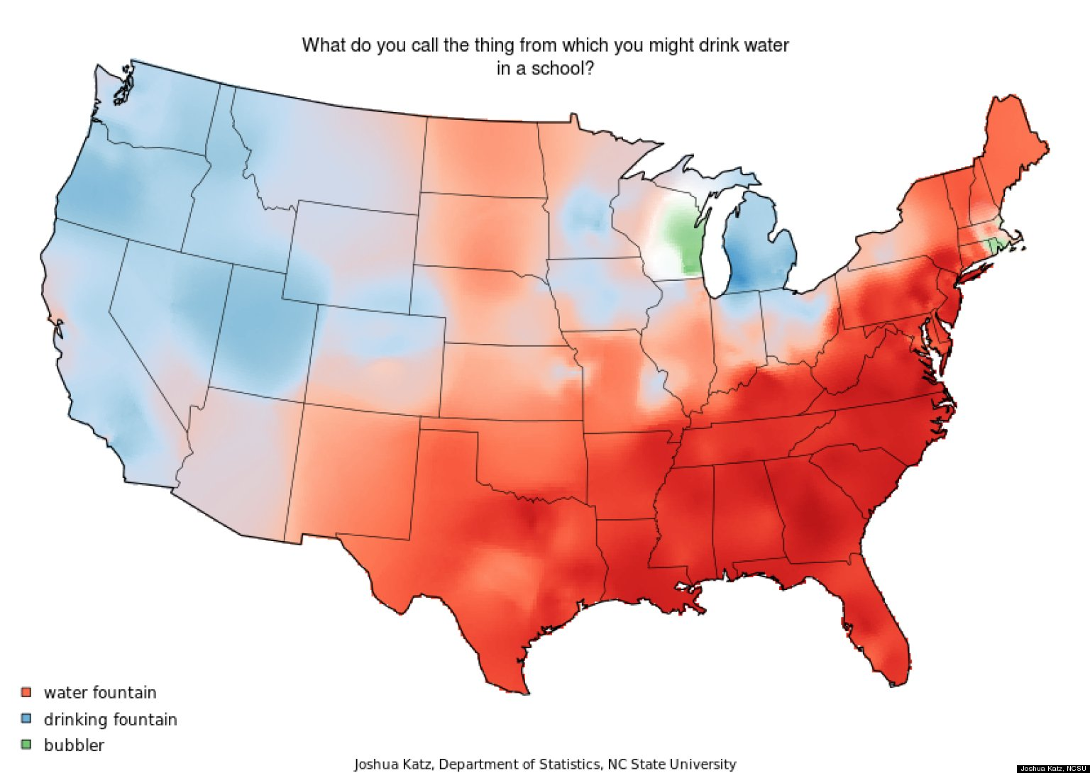 These Dialect Maps Showing The Variety Of American English Have - Accent map of us