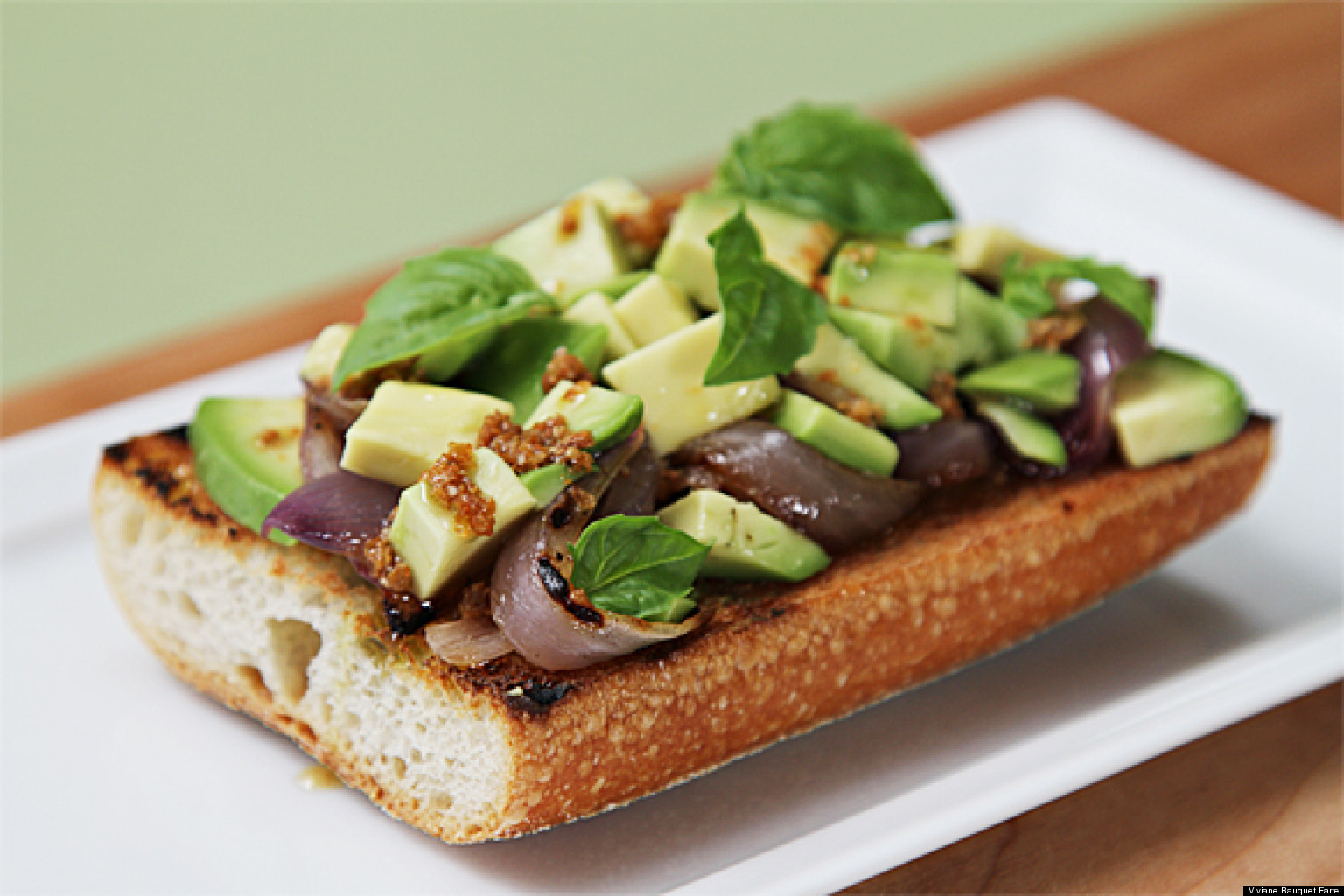 Avocado and Grilled Onion Tartines With Roasted Coriander ...