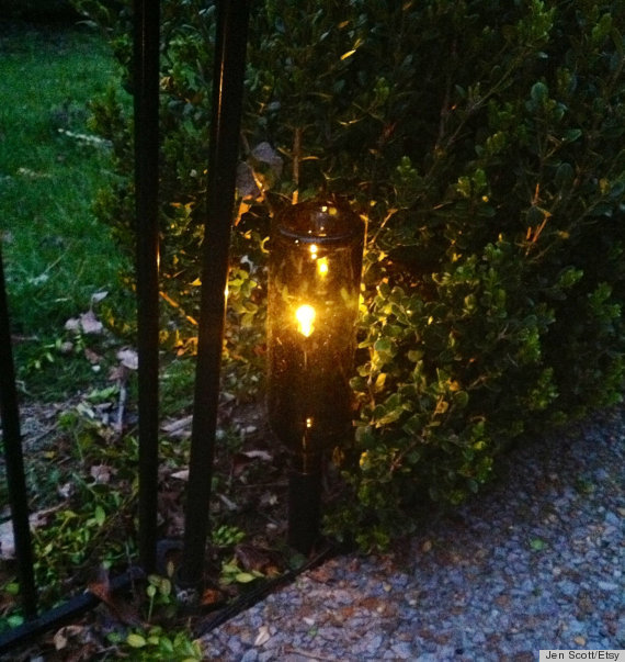 Garden Lighting Ideas : Pics Photos  Diy Outdoor Lighting Ideas To Illuminate Your Summer