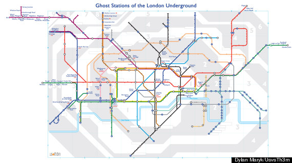 tube map ghost stations