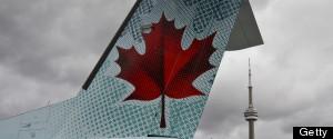 SCREAMING AIR CANADA PILOT