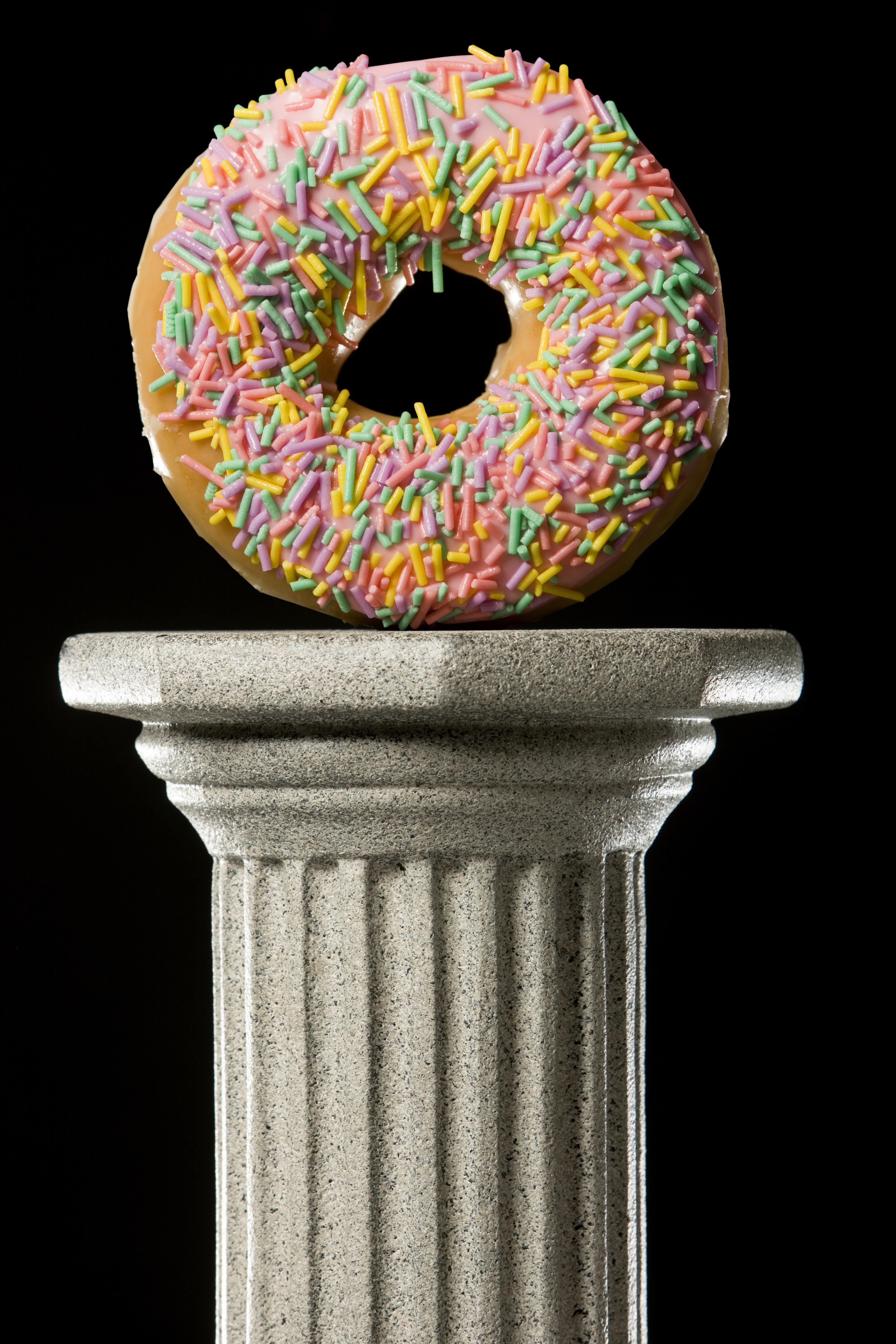 large donut