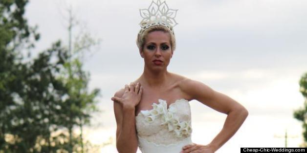 Toilet Paper Wedding Dress Contest Winners Revealed (PHOTOS