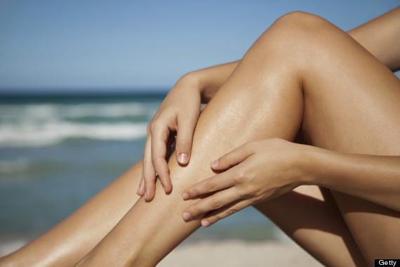 tanning legs