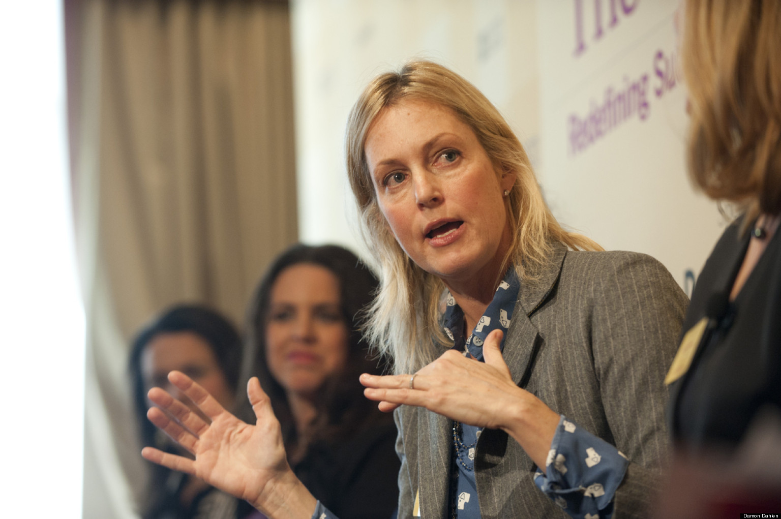 Alexandra Wentworth Ali Wentworth At The Third Metric Conference You Redefine What