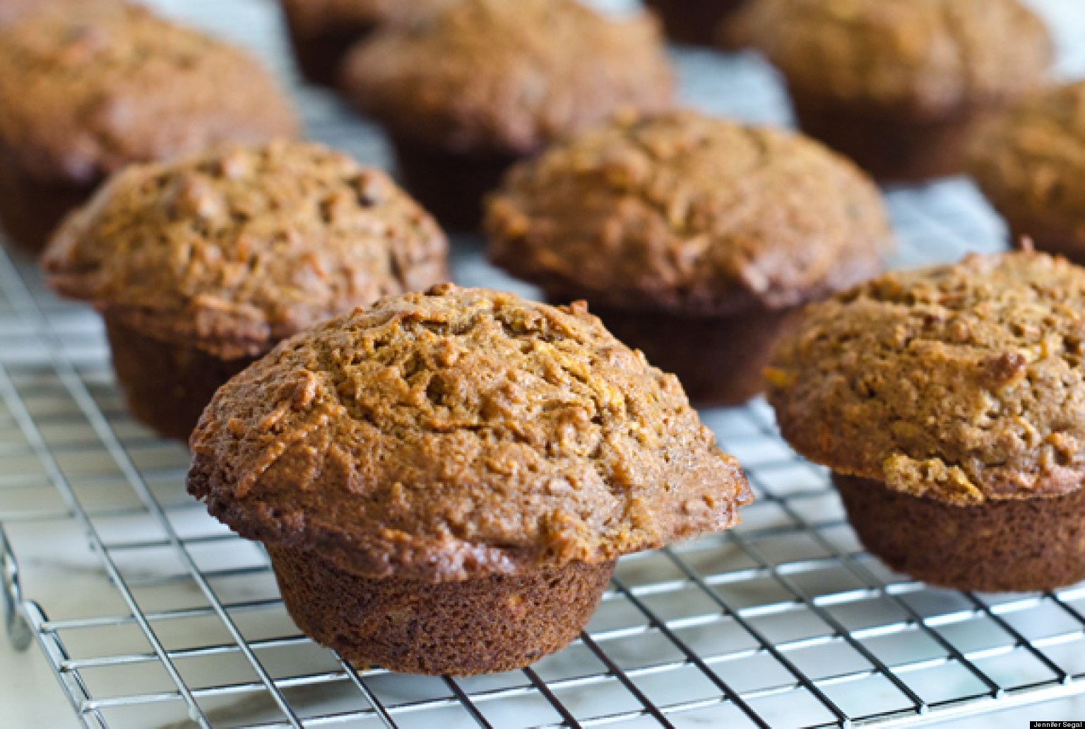 Wholesome Morning Glory Muffins | HuffPost