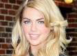 Kate Upton's Cleavage: Model Almost Falls Out Of Top While Fooling Around On Set (PHOTO)